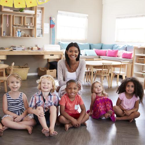 Lead teacher in the classroom